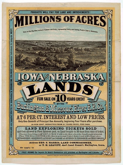 Homestead Act Advertisement