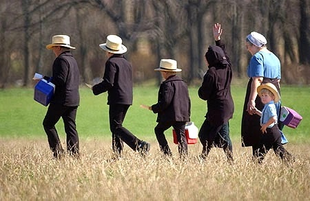 Walking Amish